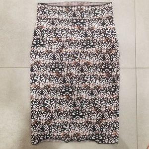 BCBG BANDAGE skirt